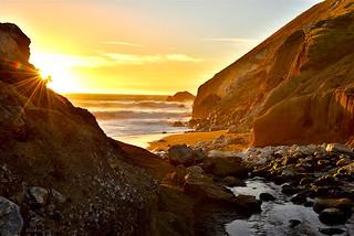 Sunset Glow|Rockaway Beach, Northern California