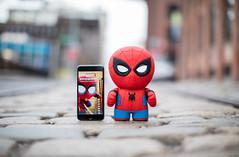 Sphero'nun yeni oyuncağı konuşkan bir Örümcek Adam (Teknoformat) Tags: haber örümcekadam oyuncak sphero spiderman