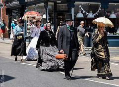 Broadstairs Dickens Festival Procession 10 (philbarnes4) Tags: broadstairs charlesdickens dickens broadstairsdickensfestival thanet kent england victorian procession