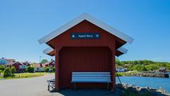 Ferry Station (juliolunap) Tags: outdoors archipielago nature goteborg gothemburg sweden sverige bluesky blue water islands island aspero