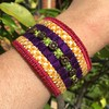 Embroidered Cuff (ann-marieanderson-mayes) Tags: beautifulstitches canvaswork needlepoint embroidery embroidered jewellery
