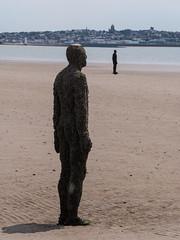P1020458p (Gareth's Pix) Tags: crosby beach crosbybeach sculpture anotherplace antonygormley gormley merseyside