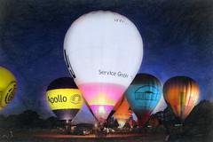 ~~~~ hot-air ballon glowing ~~~ (jmb_germany) Tags: