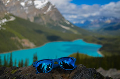 (Emma Paddle) Tags: lake blue mountains landscape canada canadian peyto sunglasses turquoise cans2s