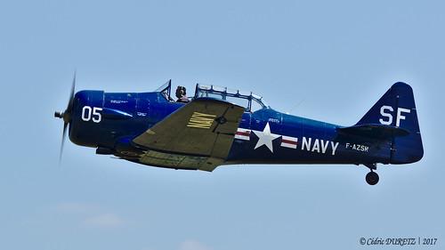 North American T-6G Texan / Le Cercle des Machines Volantes (CMV) / F-AZSR
