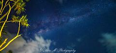 Bali Milky Way (The Happy Traveller) Tags: bali candidasa nightscenery nightsky milkyway stars starrysky starrynight
