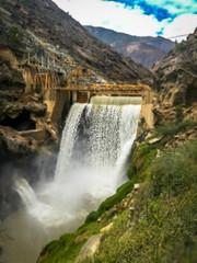 A look at the dam near Canon del Pato.