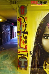 Rehab #2 (Pegasus & Co) Tags: rehab2 paris graffiti streetart urbain peinture insitu artiste matelbé stencil pochoir tribal geometrik urban paristonkarmagazine streetarteveywhere painting painters writers