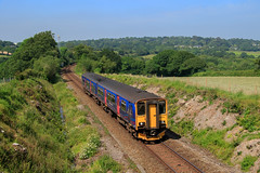 150265 - Perranwell. (37670nat) Tags: 150265 2f84 class150 class1502 firstgwr locallineslivery falmouthbranchline