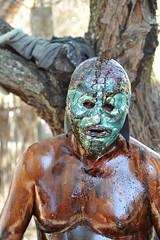 Blue Devil Tilcajete Carnaval Oaxaca Mexico (Ilhuicamina) Tags: mascaras masks oaxaca mexican carnaval zapotec fiestas tilcajete