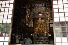Amitabha, or one who possesses immeasurable light. (sogni_hal) Tags: amitabha buddhism buddhist japan statue temple worship