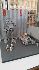 WIP Imperial Base (影Shadow98) Tags: lego star wars imperial base wip stormtrooper grand admiral atst