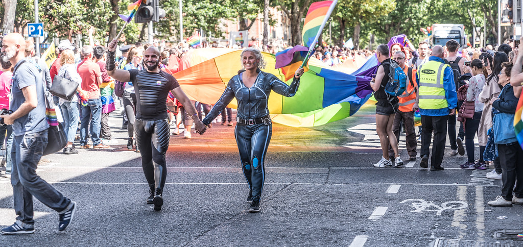 LGBTQ+ PRIDE PARADE 2017 [ON THE WAY FROM STEPHENS GREEN TO SMITHFIELD]-129974