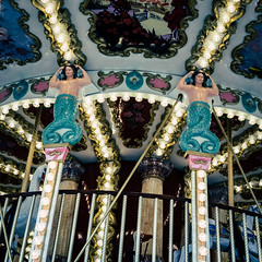Carrousel (Xaf) Tags: carrousel fun atraccion tiovivo monpellier old viejo antiguo tradicional traditional golden dorado daurat amusement entretenimiento mermaid sirena