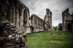 Through the ages (Anthony P26) Tags: architecture category decay england external glastonbury glastonburyabbey places somerset travel ruin abbey monastery placeofworship walls arches gothicarchitecture dissolution stonework stone grass lawn sky greyclouds greysky travelphotography architecturephotography canon1585mm canon70d canon