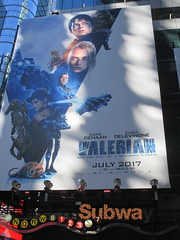 Valerian and the City of a Thousand Planets Billboard Poster 7948 (Brechtbug) Tags: valerian city thousand planets billboard poster times square nyc 2017 french science fiction comics series from 1967 valérian laureline written by pierre christin illustrated jeanclaude mézières film movie directed luc besson new york 06262017