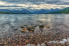 Moody McDonald (Philip Kuntz) Tags: lakemcdonald apgar continentaldivide rushingwaters stormy morning dawn daybreak glacier glaciernationalpark montana