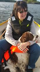 At vänern lake (Random Forum) Tags: vänern lake marianne dog