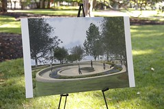 "Artist rendering of the upcoming Capitol Square Monument, ""Mantle"" , courtesy of Studio EIS & 1717 Design Group"