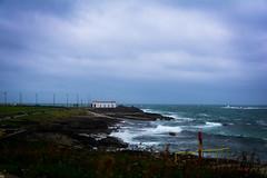 Summer time?? (skippyjon2010) Tags: storm clouds waves sea ocean portrush weather fail