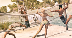 Success is how high you bounce when you hit bottom. (desiredarkrose) Tags: beachvolley wasabipills tankini sportbra sport beach couples cestlavie boom hive dustybunny wereclosed