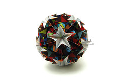 Starline (Akizhi) Tags: origami kusudama modular paper art folding craft