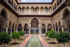 El patio (Jesus_l) Tags: europa españa sevilla realalcázar patiodelasdoncellas jesúsl