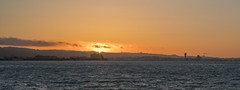 Sunset Behind SFO (tourtrophy) Tags: sfo sanfranciscoairport sunset bayarea sanfranciscobayarea sanbruno carlzeissjenaddrflektogon35mmf24 sonya7rii