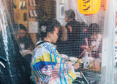 Ginza (Jennifer Lea) Tags: japan tokyo travel nikon sigma 30mm sugmaart colour kimono pattern