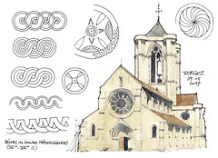 Vorges (gerard michel) Tags: france picardie église architecture aquarelle watercolour sketch croquis