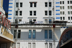 resorts, casino,  atlantic city, nj, superior scaffold. scaffolding, swings, mast climber, canopy, overhead protection, pa, philadelphia, 64 (Superior Scaffold) Tags: scaffolding scaffold rental rent rents 2157432200 scaffoldingrentals construction ladders equipmentrental swings swingstaging stages suspended shoring mastclimber workplatforms hoist hoists subcontractor gc scaffoldingphiladelphia scaffoldpa phila overheadprotection canopy sidewalk shed buildingmaterials nj de md ny renting leasing inspection generalcontractor masonry superiorscaffold electrical hvac usa national safety contractor best top top10 electric trashchute debris chutes transportplatform buckhoist