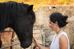 The magic of a Horse (Manu dRC) Tags: 50mm 14g la marcona 2017 cira menorca mica nikon caballos gente horse portrait retrato