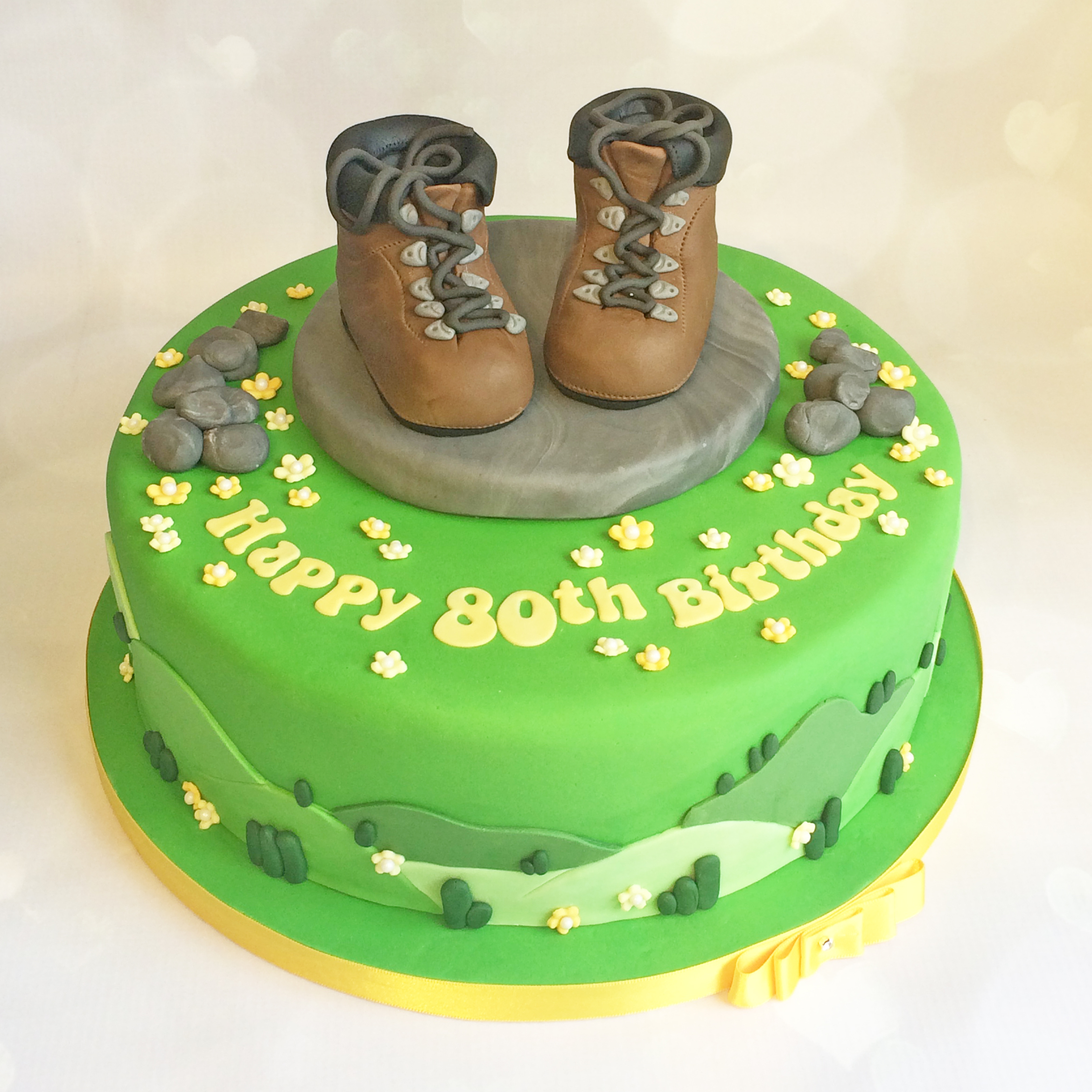 Hiking Cake: Birthday Cakes By Sugarbird Cupcakes