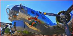 """""""MADRAS MAIDEN""""  B-17 (TV Director) Tags: b17 bomber b17bomber madrasmaiden noseart"""