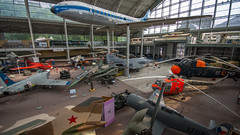Rusty, Bruxelles, 20170708 (G · RTM) Tags: royal museum armed forces military history royalmuseumofthearmedforcesandofmilitaryhistory brussel sabena rusty airplane fighter hangar aeroplane caravelle bruxelles aviation