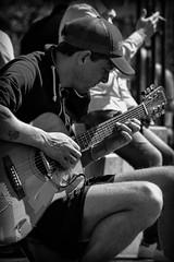 Mr. Slowhand (Nikonphotography D750) Tags: musician musiker guitar blackandwhitestreetphotography hamburg hamburgmeineperle hamburgerecken lichtundschatten lightsandshadow streetphotography streetlife schwarzweiss blackandwhite streetscene thisishh streetmusician strasenmusiker nikon nikond750 nikonphotography innenstadt downtown