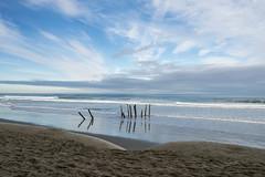 The Old Groyne (Ian@NZFlickr) Tags: st saint clair beach groyne sky clouds pacific dunedin otago nz