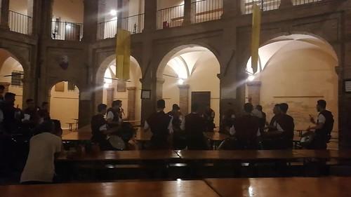 The final closure ... After seven minutes drumming.  XXIII Palio di S. Giovanni Battista - FABRIANO (AN) -Italy