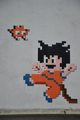 Space Invader (PA_1214) (Ausmoz) Tags: paris street art streetart rue urbain urban mur murs wall walls installation installations decal decals mosaic mosaique mosaiques space invader « invaders » tile tiles 75012 pa1214 1214
