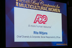 MCW 2017 (Working Mother Media) Tags: 2017 adp award mcw mcwawardluncheon multiculturalwomen nyc racetotrust ritamitjans workingmother executive gender race women workplace