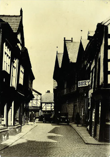 Market Street viewed from High Street - around 1930