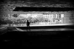 skateboarder (stempel*) Tags: pentax k30 bw czb 50mm barcelona espanya skateboarder skateboard