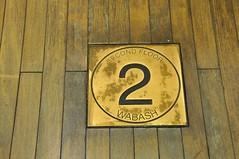 4-018 2nd Floor Wabash Sign (megatti) Tags: chicago departmentstore il illinois macys marshallfields