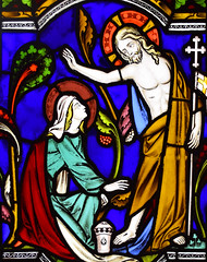 noli me tangere (1852) (Simon_K) Tags: ely cambridgeshire cambs eastanglia cathedral window glass stained sgm nikon d5300