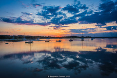 Newtown Creek (frattonparker) Tags: btonner boats isleofwight lightroom6 nikond810 raw solent summer sunset tamron28300mm frattonparker