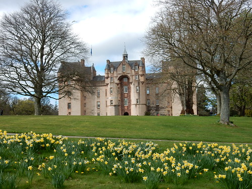 Fyvie Castle, over 800 years old