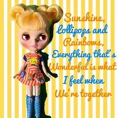 Playful Raindrops is feeling the summer sun (no rain here!) singing along to Leslie Gore's iconic song.  Outfit: CutiePops Hattitude.