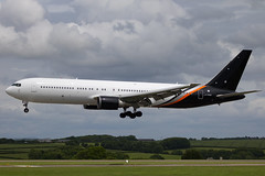 Titan Airways - Boeing 767-36N/ER G-POWD @ Cardiff Rhoose (Shaun Grist) Tags: gpowd titan boeing 767 shaungrist cwl egff cardiff cardiffairport cardiffrhoose rhoose wales airport aircraft aviation aeroplanes airline avgeek