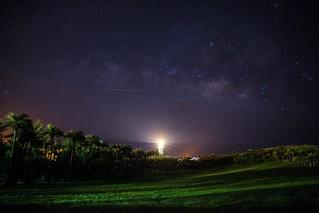 星星點燈⋯⋯攝於鵝鑾鼻燈塔(Lighthouse with stars)。
