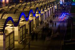 DSC_9684-2 (sergeysemendyaev) Tags: 2017 moscow russia москва россия длиннаявыдержка longexposure diagonal диагональ dark night темно ночь streets citystreets улицы городскиеулицы люди движение people movement музеон парк парккультуры muzeon park